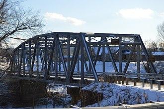 Raccoon Creek (Ohio) - Bridge at Northup