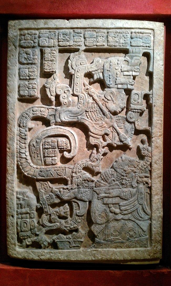 Lintel 25, Maya, about AD 725 - British Museum