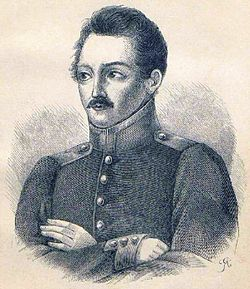 Litography of Alexandr Polezhajev.JPG