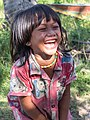 Little girl laughing with excitement in Laos.jpg
