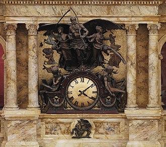 John Flanagan (sculptor) - Image: Lo C Rotunda Clock