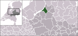 Location of Elburg