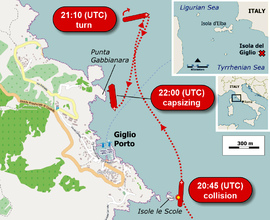 Location of Costa Concordia cruise-ship disaster (13-1-2012)-2.png