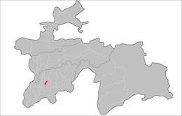 Location of Sarband District in Tajikistan.png