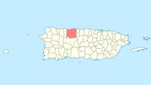 map of arecibo puerto rico Arecibo Puerto Rico Wikipedia map of arecibo puerto rico