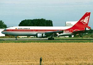 SriLankan Airlines - Air Lanka Lockheed L-1011 TriStar at Brussels Airport