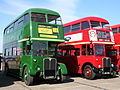London Transport buses RT3254 (LLU 613) & RT2293 (KGU 322), Showbus 2007.jpg