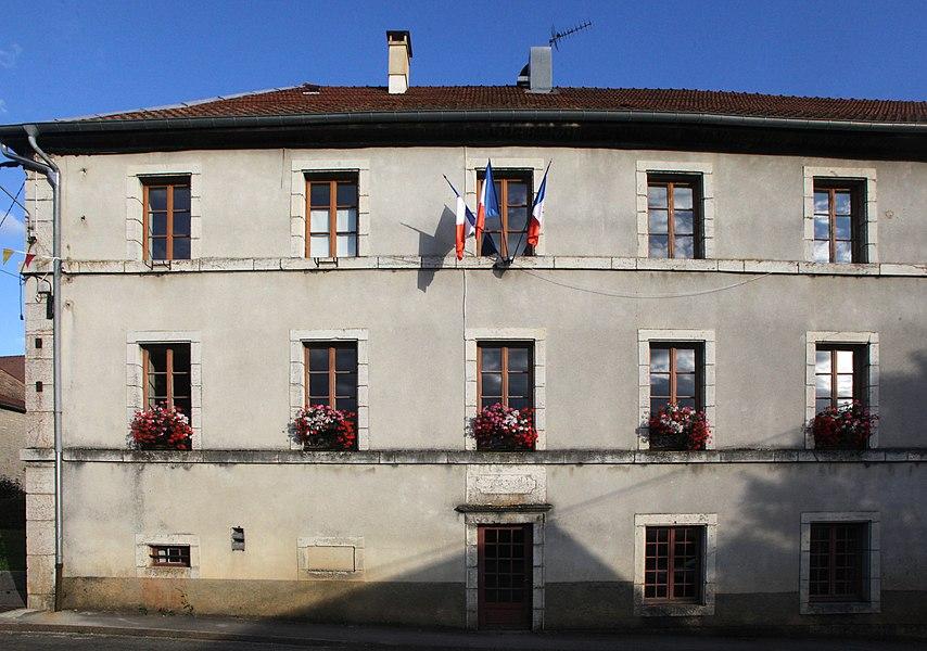 Mairie de Longeville (Doubs).