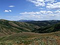 Looking over Wildhorse Mountain to Mink Creek - panoramio.jpg