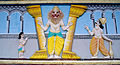 Lord Narasimha statue at Venkateswara Temple in Midhilapuri VUDA Colony.JPG