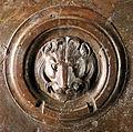 Lorenzo ghiberti e aiuti, porta nord del battistero di firenze, retro con teste leonine, 08.JPG
