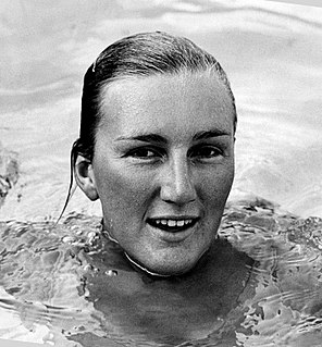 Lorraine Crapp Australian swimmer