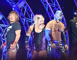 Tetsuya Bushi - Bushi with Los Ingobernables de Japon in February 2016