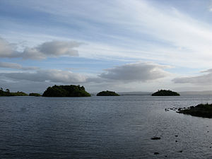 Lough Corrib - Minor islands in Lough Corrib.