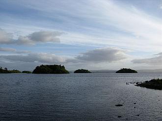 Lough Corrib - Minor islands in Lough Corrib.