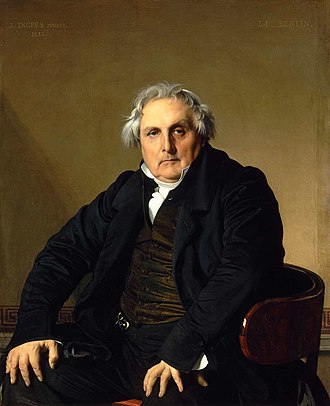 Portrait of Monsieur Bertin - Image: Louis Francois Bertin