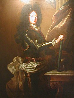 Portrait de Louis-François de Boufflers par Hyacinthe Rigaud. Collection privée.