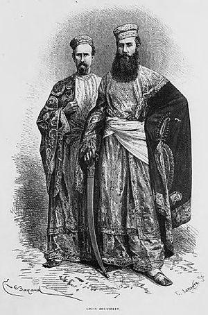 Louis Rousselet - Louís Rousselet with Jules Henri Jean Schaumburg. 1867