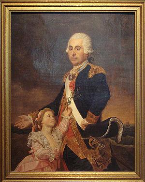 Musée National de la Marine (Rochefort) - Image: Louis de Rossel de Cercy autoportrait 1785