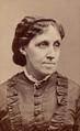 Louisa May Alcott, c. 1870 - Warren's Portraits, Boston.png
