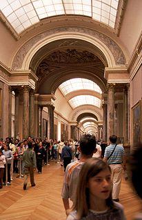 Grande Galerie Room in the Louvre