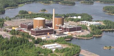 Ett av kärnkraftverken utanför Lovisa