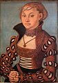 Lucas Cranach I-Portrait of a Saxon Lady-MBA Lyon B494-IMG 0262.jpg
