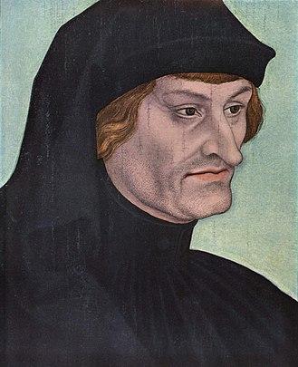 Rodolphus Agricola - Rodolphus Agricola by Lucas Cranach