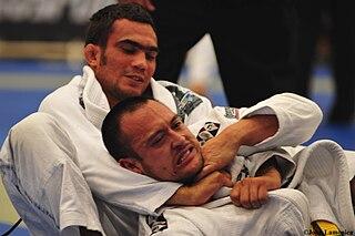 Okuri eri jime Judo technique