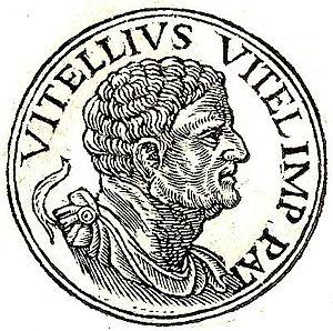 Lucius Vitellius the Elder - Lucius Vitellius from Guillaume Rouillé's Promptuarii Iconum Insigniorum