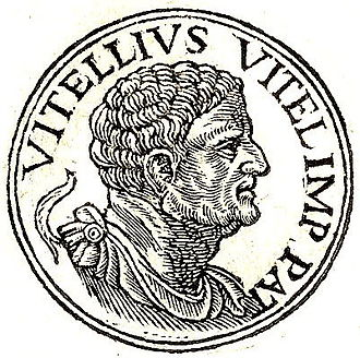 Lucius Vitellius the Elder - Lucius Vitellius from Guillaume Rouillé's Promptuarii Iconum Insigniorum