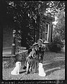 Lucy Maud Montgomery with her pets outside her home in Norval, Ontario (I0023626).jpg