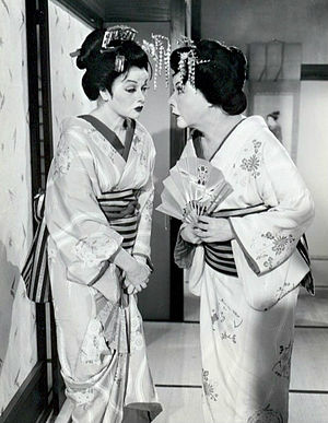 Ethel Mertz - When the Ricardos and Mertzes go to Japan, Lucy and Ethel dress as geishas to try to get Lucy some pearls.