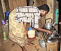 Lucy with stove in Nigeria.jpg