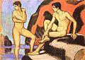 Ludwig von Hofmann zwei mannliche akte.jpg