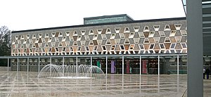 Eurovision Song Contest 1973 - Grand Théâtre, Luxembourg City – host venue of the 1973 contest.