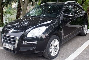 Luxgen - Image: Luxgen 7 SUV front