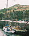 Lying alongside, Peel Harbour - geograph.org.uk - 1618755.jpg