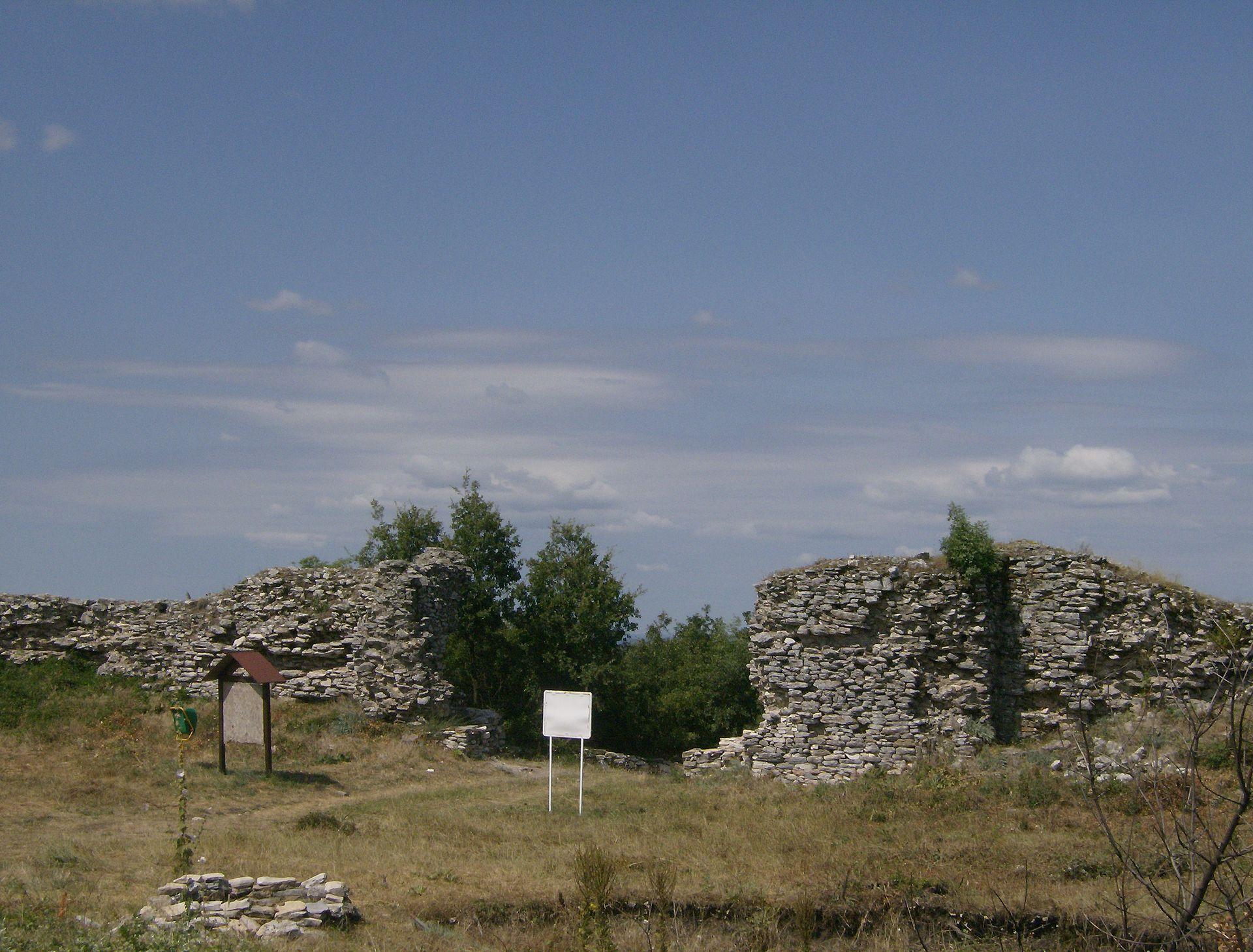 крепостта на Лютица