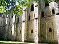 Mériel (95), abbaye Notre-Dame du Val, bâtiment des moines, façade est.jpg