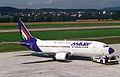 MALEV Hungarian Airlines Boeing 737-300; HA-LED@ZRH;11.08.1994 (4847594725).jpg