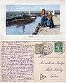 MARKEN — Ansichtkaart 1920 met correspondentie.jpg