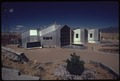 MODULAR SOLAR-HEATED HOUSE BUILT NEAR CORRALES, NEW MEXICO, FEATURES INTERCONNECTED UNITS OF ALUMINUM WITH A URETHANE... - NARA - 555307.tif