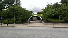 MTA Maryland Light Rail Cherry Hill Station from Cherry Hill Road.jpg