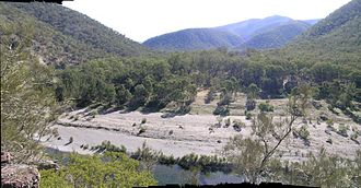 Macleay River - Macleay River at Oven Camp, Oxley Wild Rivers National Park.