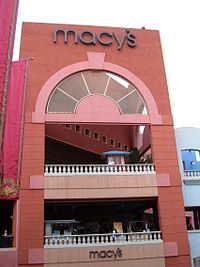 A Macy S At Westfield Horton Plaza In San Diego