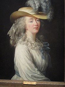 Madame du Barry by Élisabeth Vigée Le Brun.