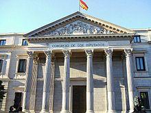 Palacio De Las Cortes Madrid Wikimedia Commons