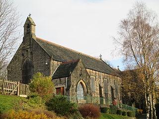 Broadbottom Human settlement in England