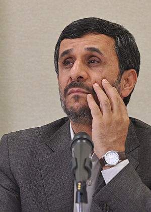 Mahmoud Ahmadinejad (Brazil 2009)